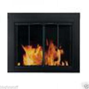 Fireplace glass doors ebay small glass fireplace doors eventshaper