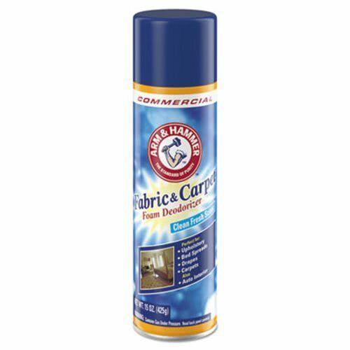Arm & Hammer Fabric and Carpet Foam Deodorizer, 15-oz, 8 Cans (CDC3320000514CT)