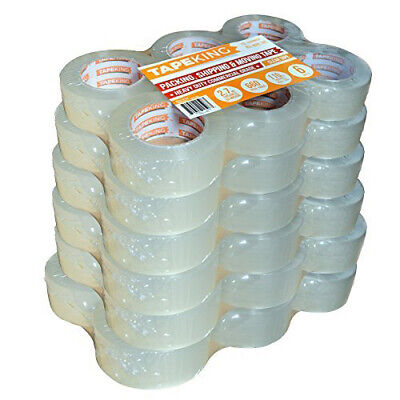 Tape King Clear Packing Tape 110 Yards Per Roll 36 Rolls Packaging Commercial