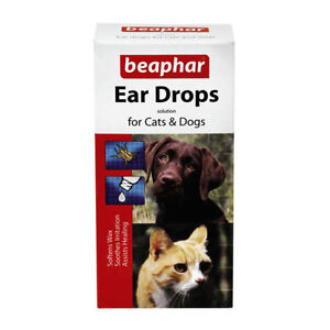 BEAPHAR EAR DROPS For CATS AND DOGS 15ML