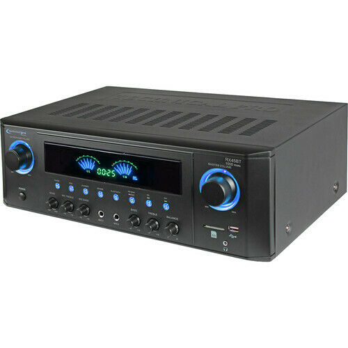 Technical Pro RX45BT Home Theater Receiver 1000w Amplifier Bluetooth USB
