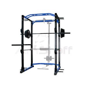 Squat Rack + bench + bars + 315lb cast iron weights
