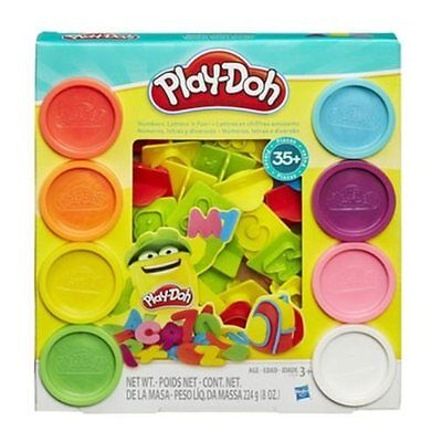 New Play Doh Sets Playdough Numbers Letters N Fun Art