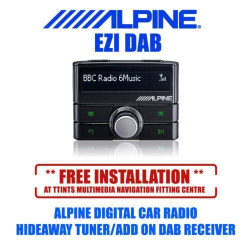 alpine ezi dab gps in car technology ebay. Black Bedroom Furniture Sets. Home Design Ideas