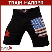 Men USA Flag Shorts