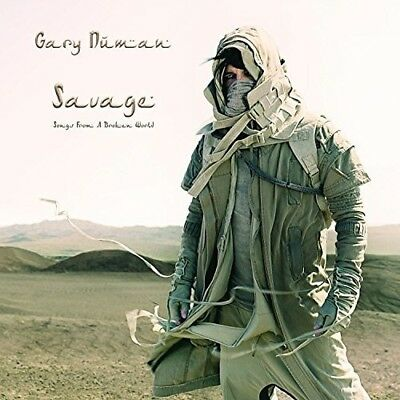 Gary Numan   Savage  Songs From A Broken World   New Cd  Deluxe Edition