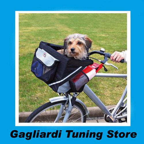 Cestino per Bici Trixie Trasporto Cani 38×25×25 cm Biciclette Ciclo