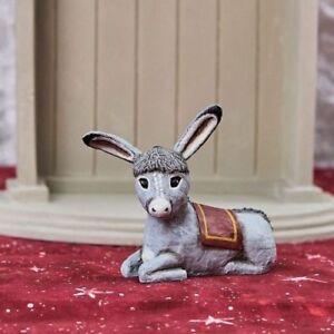 LORI MITCHELL ~ Holy Donkey ~ Christmas Nativity Figurine ~ Free Shipping