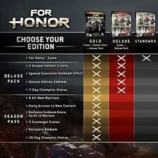 Ubisoft For Honor (PlayStation 4)