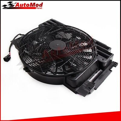 Radiator Cooling Fan Condenser for BMW E53 X5 2000-2006 3.0 4.6 4.8 64546921381