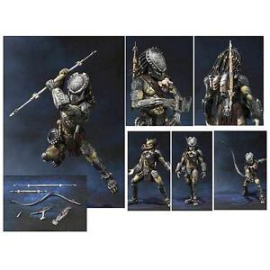 Alien vs. Predator Wolf Predator SH MonsterArts Die-Cast Metal Action Figure
