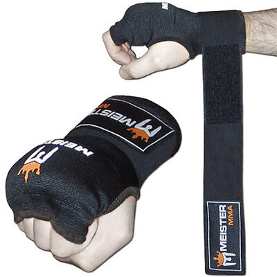 MEISTER PADDED PROWRAPS Inner Hand Wraps Gloves - MMA Boxing Wrist Fight PAIR Wrist Hand Wrap