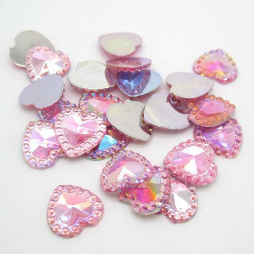 Flat back gems crafts ebay for Plastic gems for crafts