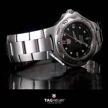 Genuine TAG HEUER KIRIUM CHRONOMETER Calibre 7 Black Dial Boxed Sydney Region Preview