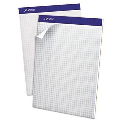 Ampad Quadrille/graph Pad - 100 Sheet - 15 Lb Basis Weight - Quad Ruled - -