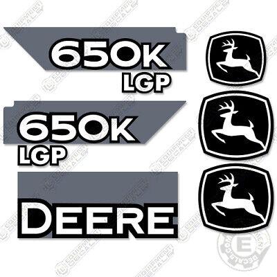 Deere 650k Lgp Dozer Decal Kit Equipment Decals