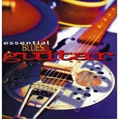 Essential Blues Guitar by Various Artists (CD, Aug-1997, 2 Discs, House Of...