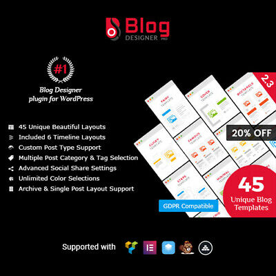 Blog Designer Pro Wordpress Plugin