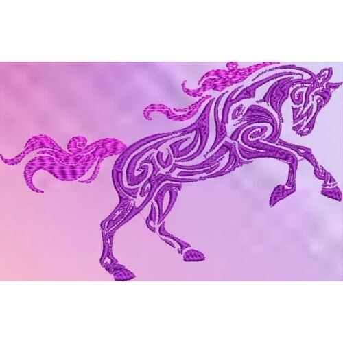 Embroidered Sweatshirt - Tribal Horse S1-11 Sizes S - XXL