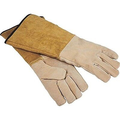 HOMEBASIX CPA03110MM3L Fireplace Hearth Gloves, 16-Inch