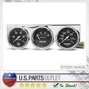 Oil Water Volt Gauge