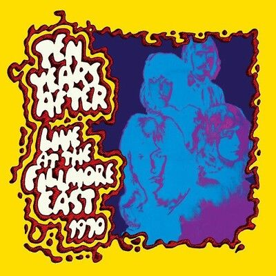 TEN YEARS AFTER LIVE AT THE FILLMORE EAST 1970 3-LP VINYL  (Released 9/11/2018)