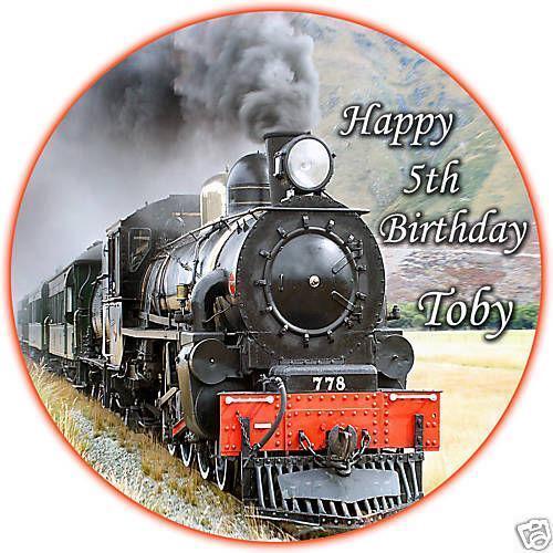 Train Cake Topper Ebay