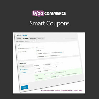 Woocommerce Smart Coupons - Wordpress Plugins And Themes