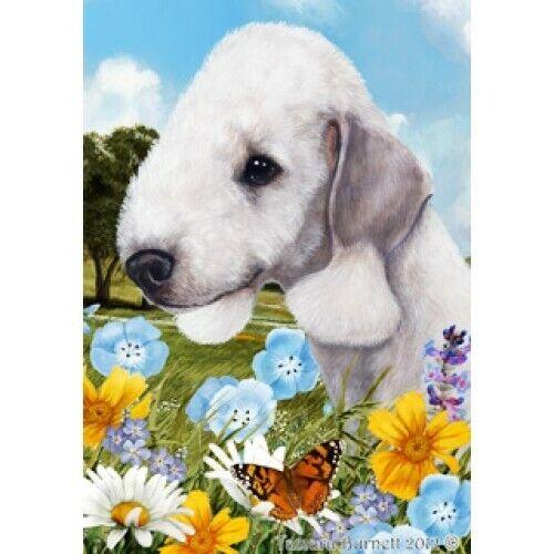 Summer House Flag - Bedlington Terrier 18132