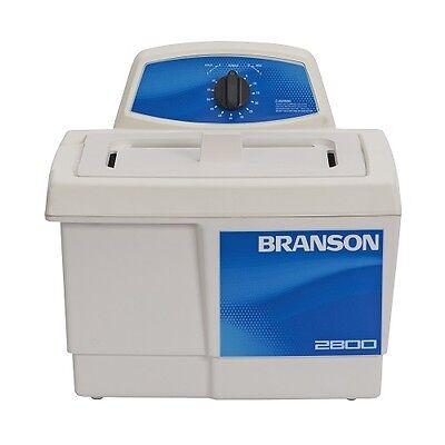 Branson M2800 0.75g Ultrasonic Cleaner W Mechanical Timer Cpx-952-216r