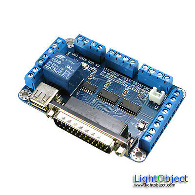 5-axis Breakout Board For Cnc Stepping Motor Drive