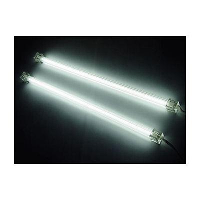 Dual 12' Cold Cathode Light - Logisys Dual Cold Cathode Fluorescent Lamp (White) Computer Lights