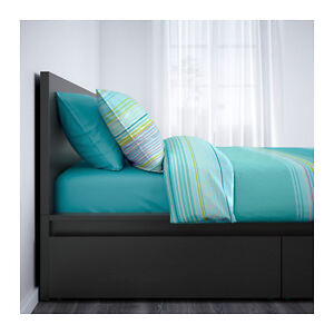 IKEA Malm bed with 4 drawers
