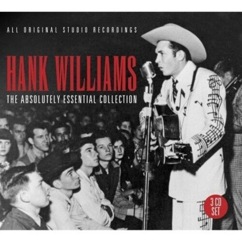 Hank Williams Absoulutely Essential Collection (Uk) 3 CD NEW sealed