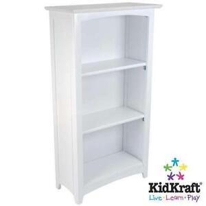 Tall White Bookcase