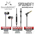 SoundMAGIC MP3 Player Headphones & Earbuds with Microphone