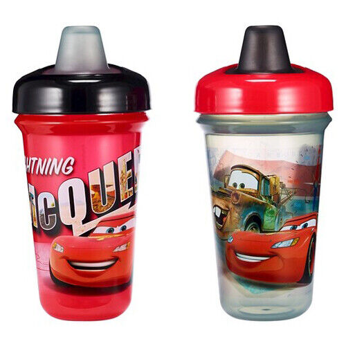Disney The First Years Stackable Soft Spout Cup - Cars - 2pk
