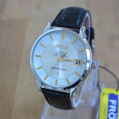 Mens Vintage Style Watch Leather Strap - New old stock M02W