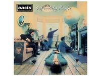 Oasis definately maybe X2 vinyl original 1994