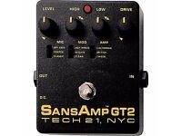 Tech 21 Sans Amp GT2 pedal