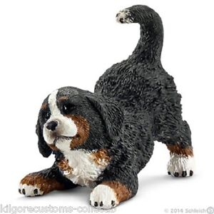 Schleich Dog Bernese Mountain Puppy Figurine Toy NEW 2014