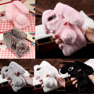 Fluffy Phone Case Iphone 8 X Rabbit Soft Warm Cover222624673779 Fashion (Rabbit Iphone Case)