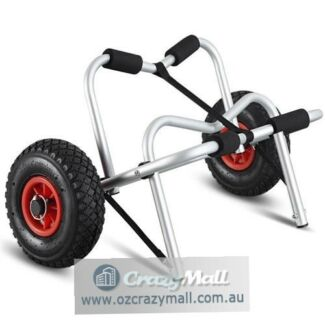 Foldable 100KG Heavy Duty Aluminium Lightweight Kayak Trolley