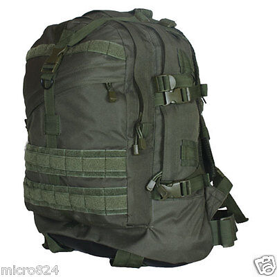 Survival Backpack OD Olive Drab Fox Outdoor Tactical Large 3-Day Military NEW Od-olive Drab