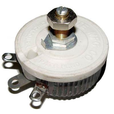 1x 2 Ohm 50w Rheostat Wirewound Resistor Potentiometer 50 Watt 2ohm