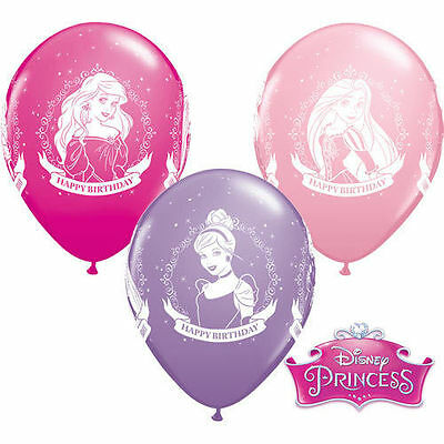 NEW 5 Disney Princess Happy Birthday 11