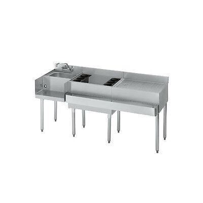Krowne Metal 18-w66l Standard 1800 Series 66w Underbar Ice Bincocktail Station