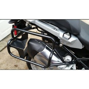 R1200GS 2013 + Brooks Pannier system Steel Rack  Black (NEW)