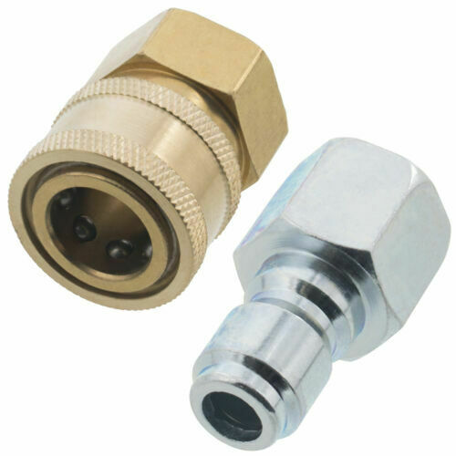 "3/8"" Quick Connect Fittings for Pressure Washer Hose New Top Quality Female Male"
