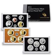 2011 US Mint Silver Proof Set